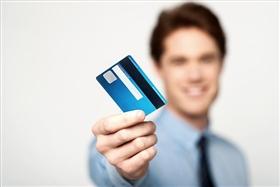 ICチップ付きクレジットカードのイメージ